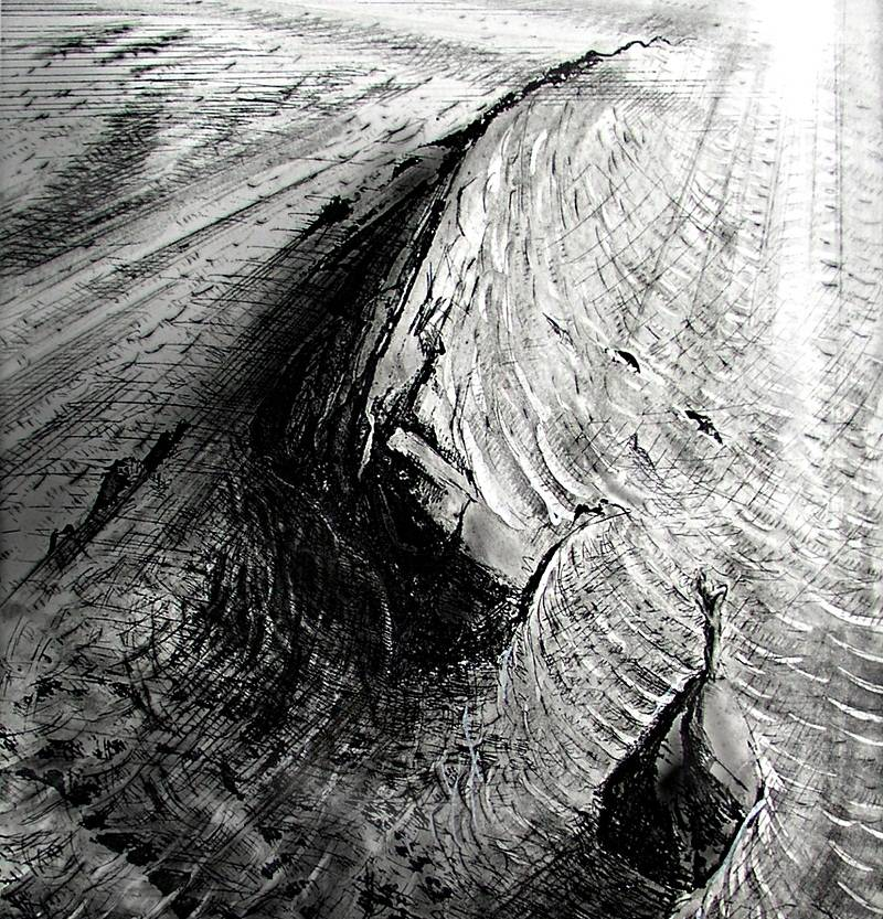 Black And White Etchings And Drypoints