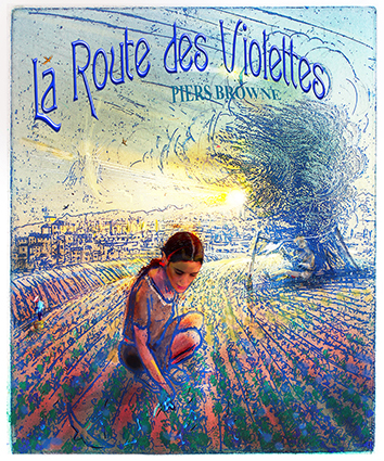 Title page - for LA ROUTE DES VIOLETTES