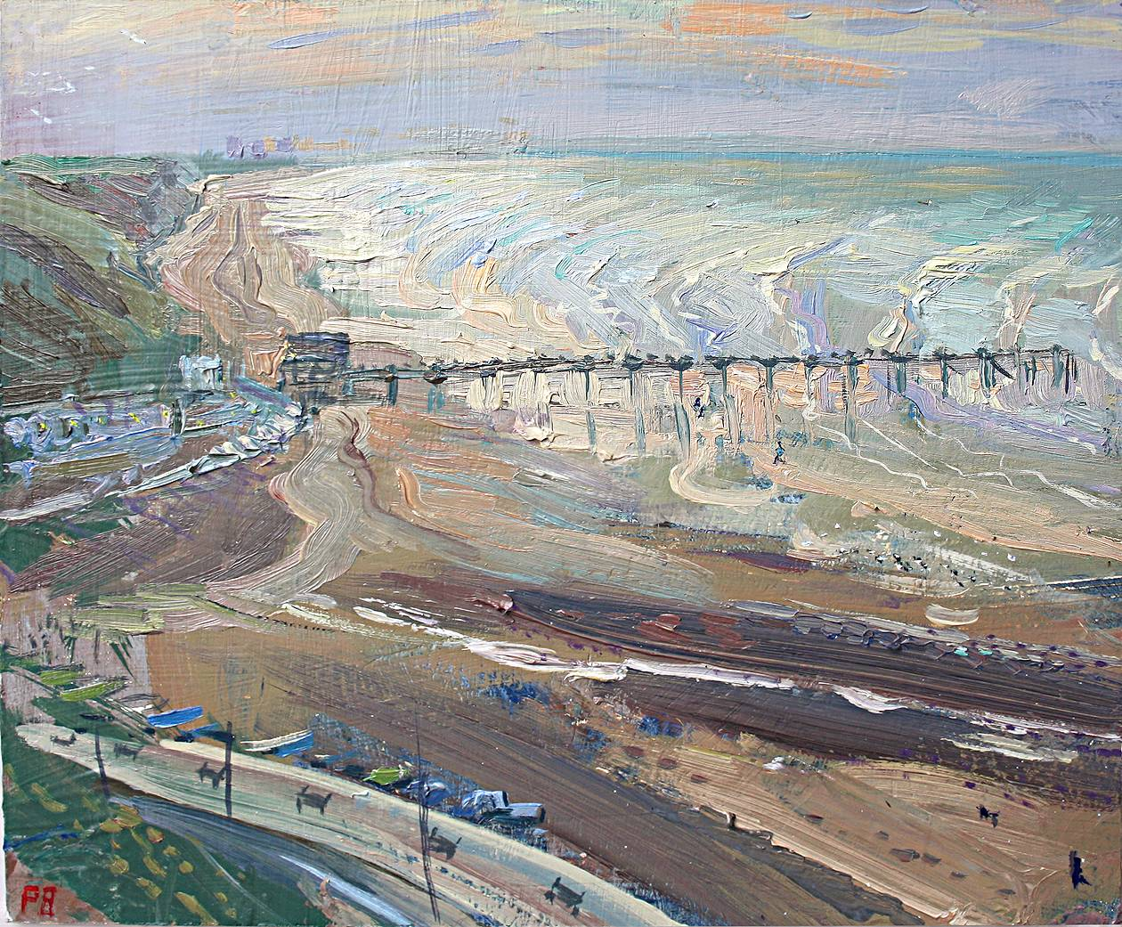 ''OCTOBER AFTERNOON: INCOMING TIDE, SALTBURN''